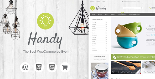 01 overview.  large preview - Handy - Handmade Shop WordPress WooCommerce Theme