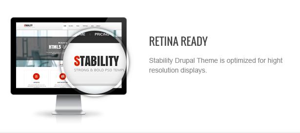 02 retinaready - Stability - Responsive Drupal 7 Ubercart Theme