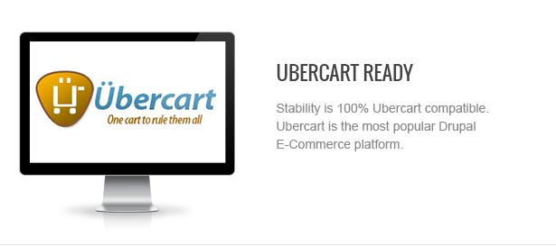 04 ubercart - Stability - Responsive Drupal 7 Ubercart Theme