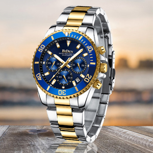 05ffdb0d e287 4910 b55f 96ad05d3818b.  CR0,0,300,300 PT0 SX300 V1    - Mens Watches Chronograph Stainless Steel Waterproof Date Analog Quartz Fashion Business Wrist Watches for Men