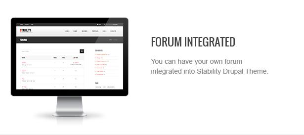 06 forum - Stability - Responsive Drupal 7 Ubercart Theme