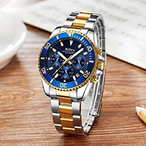 13fba51a 77aa 4adb a4c3 6fd1fffbbed2.  CR250,0,1000,1000 PT0 SX300 V1    - Mens Watches Chronograph Stainless Steel Waterproof Date Analog Quartz Fashion Business Wrist Watches for Men