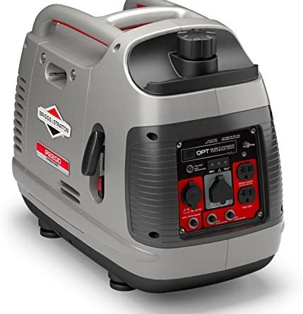 1609493336 5103g7TfjxL. AC  429x445 - Briggs & Stratton P2200 Power Smart Series Inverter Generator with Quiet Power Technology and Parallel Capability, 2200 Starting Watts 1700 Running Watts