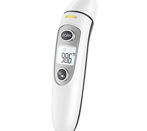 1609929808 314b2WaI7UL 500x445 - Infrared Thermometer for Adults,Forehead and Ear Thermometer for Fever, Babies, Children, Adults, Indoor and Outdoor Use