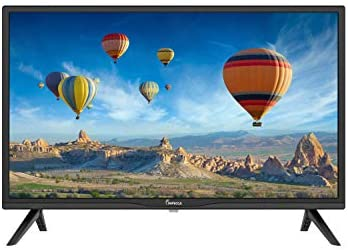 1611067232 41gk3UtT4xL. AC  - Impecca 24 Inch LED HD TV Monitor TL2400H Energy Star Slim Design 720p, Built-in Speakers with Multiple Imputes HDMI, USB Ports, and Remote, Wall Mountable