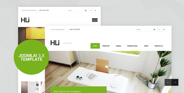 1611631075 683 preview.  large preview - HLI, Responsive Corporate/Business Joomla! 3.9 Template