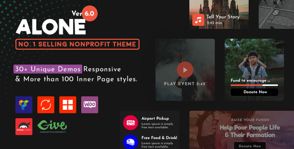 1611718449 991 preview.  large preview - Alone – Charity Multipurpose Non-profit WordPress Theme
