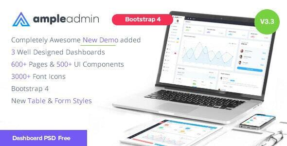 1611850773 520 preview.  large preview - Ample Admin - Ultimate Dashboard Template