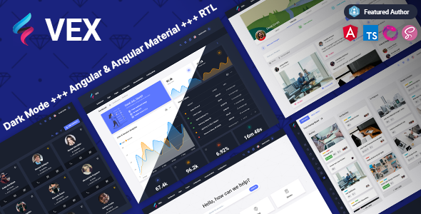 1611981778 588 01 preview.  large preview - Vex - Angular 10+ Material Design Admin Template