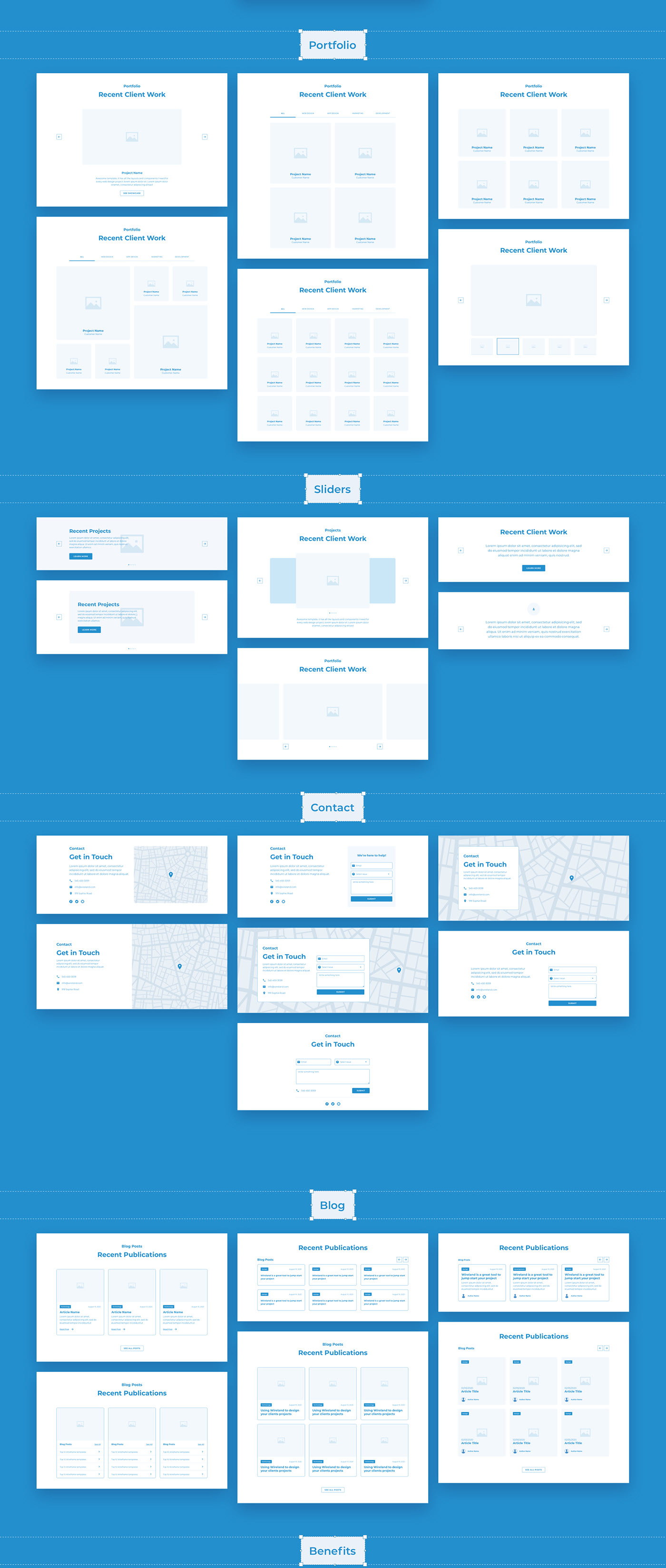 23be9757728315.5f82276d388c6 - Wireland - Wireframe Library for Web Design Projects - Sketch Template
