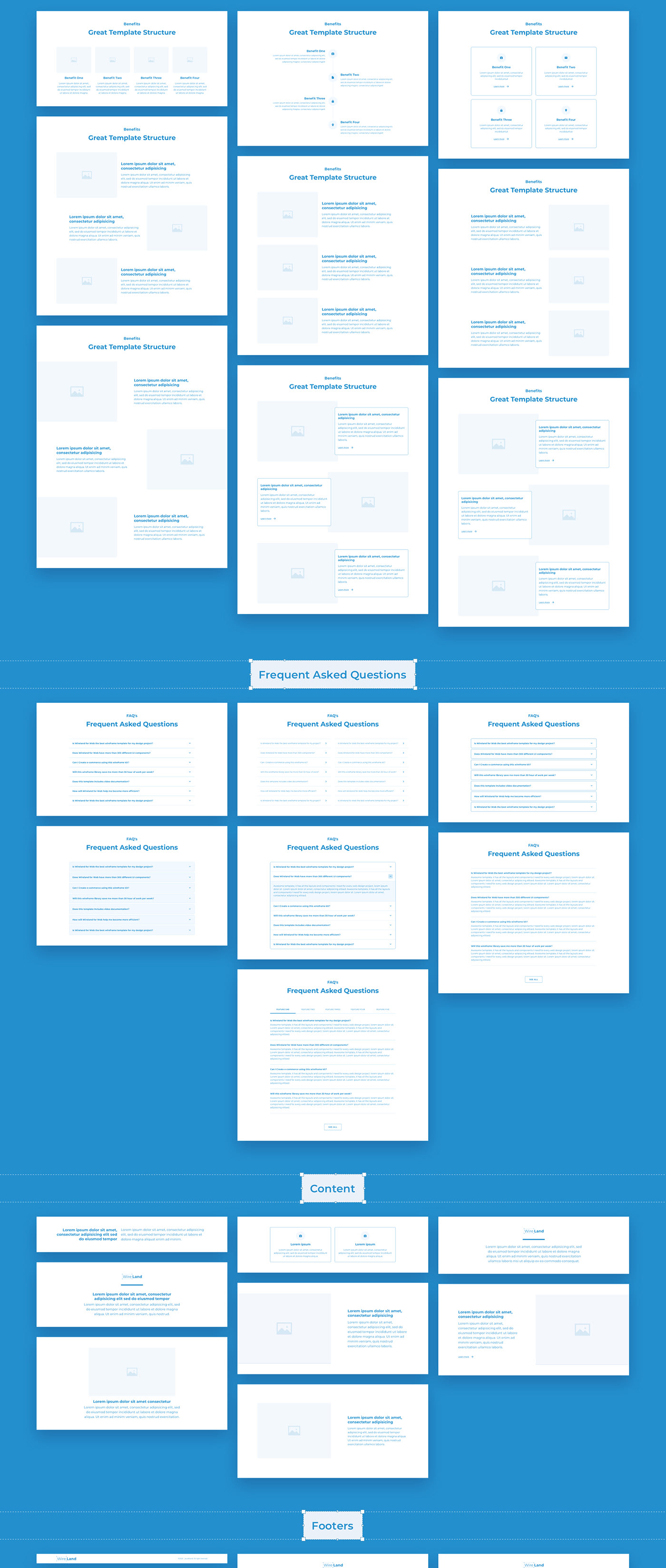 27182457728315.5f82276d3b42c - Wireland - Wireframe Library for Web Design Projects - Sketch Template