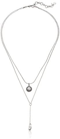 319TV0cY4yL. AC  - Lucky Brand Womens Pearl Delicate Necklace
