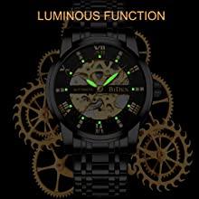 3f63a758 f0b7 4714 ad2b e0973a8ac156.  CR0,0,1200,1200 PT0 SX220 V1    - Mens Watches Mechanical Automatic Self-Winding Stainless Steel Skeleton Luxury Waterproof Diamond Dial Wrist Watches for Men