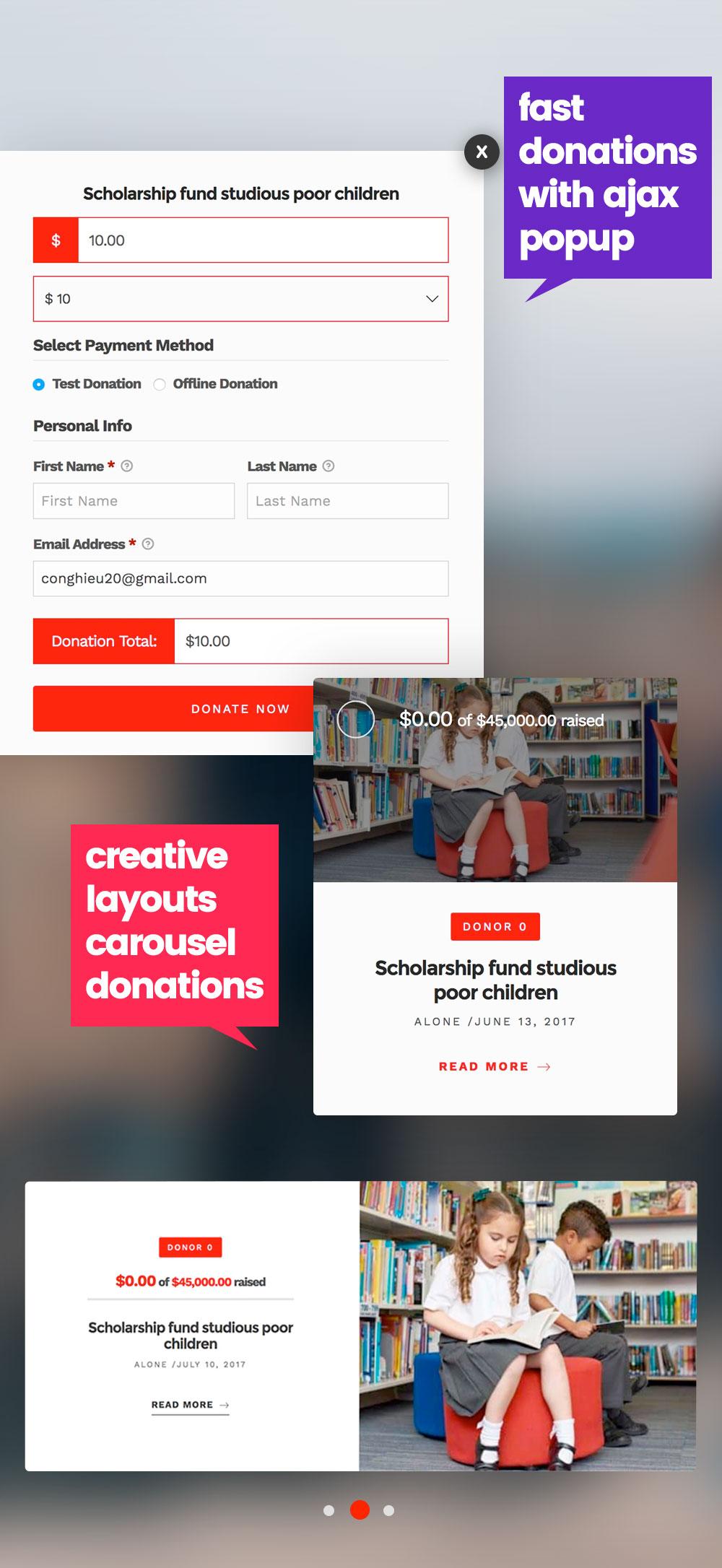 4 - Alone – Charity Multipurpose Non-profit WordPress Theme