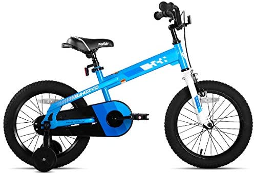412dK1XeZBL. AC  - JOYSTAR Whizz Kids Bike with Training Wheels for Ages 2-9 Years Old Boys and Girls, 12 14 16 18 Toddler Bike with Handbrake for Children