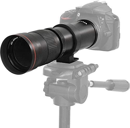 41ApMBlSjEL. AC  - High-Power 420-1600mm f/8.3 HD Manual Telephoto Zoom Lens for Canon EOS 80D, EOS 90D, Rebel T3, T3i, T5, T5i, T6i, T6s, T7, T7I, T8I, SL3, EOS 70D, EOS 5D, EOS5D IV, EOS 6D II, EOS 7D II SLR Cameras