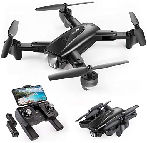 41BdWSKpAeL. AC  - SNAPTAIN SP500 Foldable GPS FPV Drone with 1080P HD Camera Live Video for Beginners, RC Quadcopter with GPS Return Home, Follow Me, Gesture Control, Circle Fly, Auto Hover & 5G WiFi Transmission