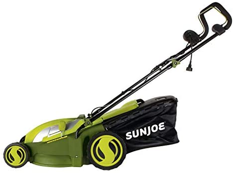 41HZeiLBDIL. AC  - Sun Joe MJ403E Mow Joe 17-Inch 13-Amp Electric Lawn Mower/Mulcher