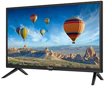 41WtK+HuAJL. AC  - Impecca 24 Inch LED HD TV Monitor TL2400H Energy Star Slim Design 720p, Built-in Speakers with Multiple Imputes HDMI, USB Ports, and Remote, Wall Mountable