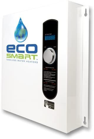 41ZtTY0ZcJL. AC  - EcoSmart ECO 27 Electric Tankless Water Heater, 27 KW at 240 Volts, 112.5 Amps with Patented Self Modulating Technology,White