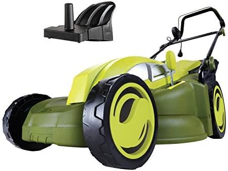 41lJtJbXFjL. AC  - Sun Joe MJ403E Mow Joe 17-Inch 13-Amp Electric Lawn Mower/Mulcher