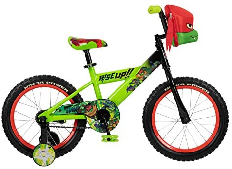 41rcO HZ65L. AC  - Teenage Mutant Ninja Turtles Boys Bicycle, 16-Inch Wheels, Green