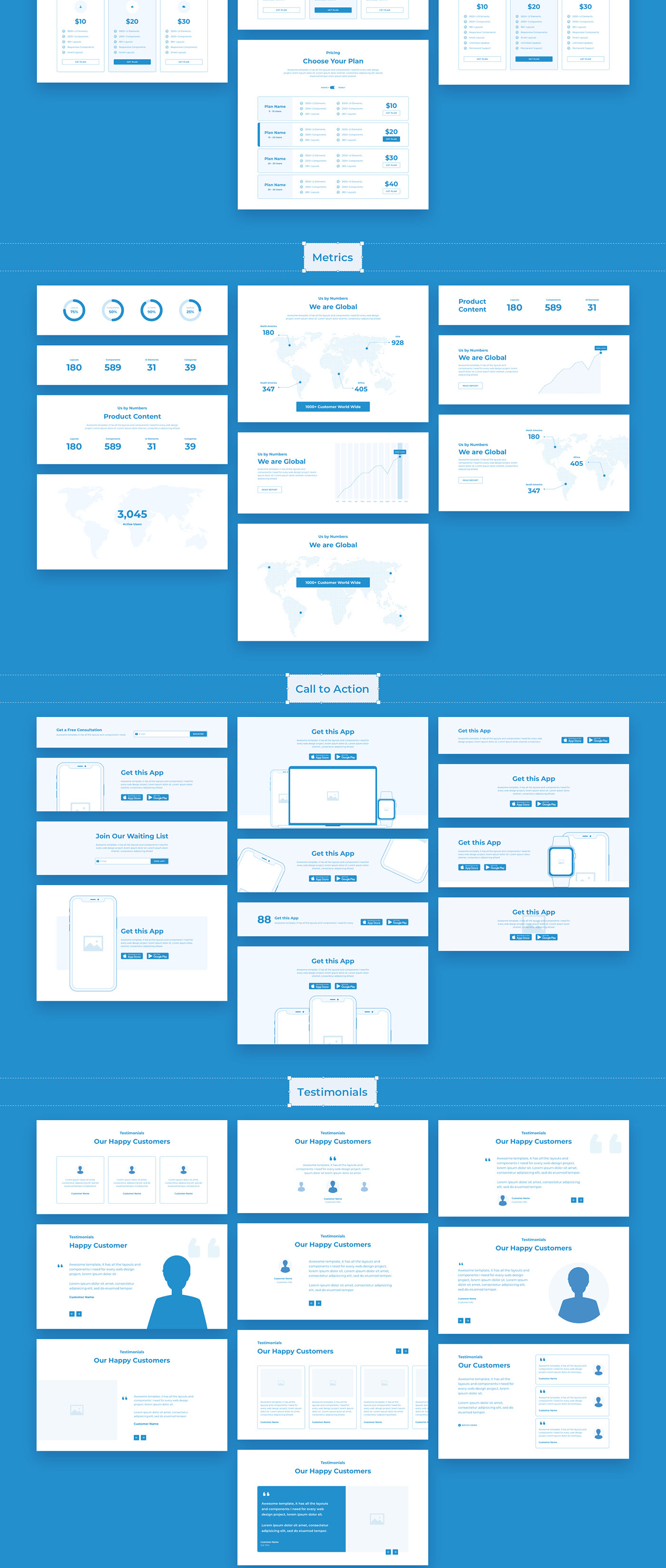 4d556d57728315.5f82276d3c251 - Wireland - Wireframe Library for Web Design Projects - Sketch Template