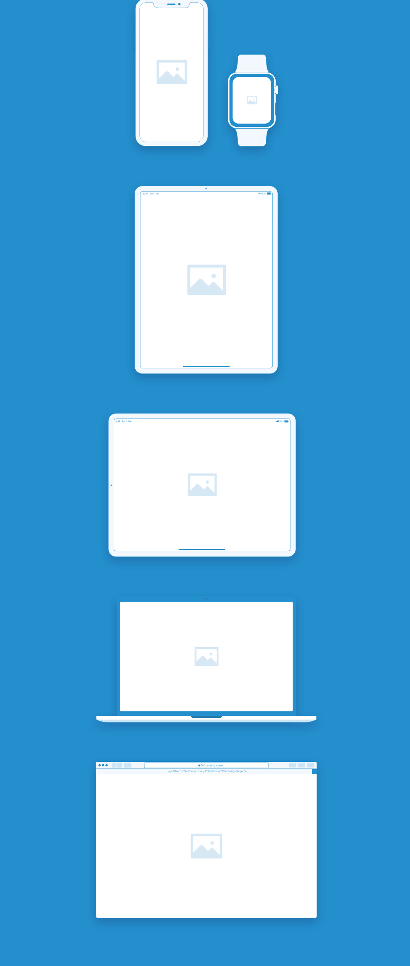 50bb6457728315.5f82276d3d077 - Wireland - Wireframe Library for Web Design Projects - Sketch Template