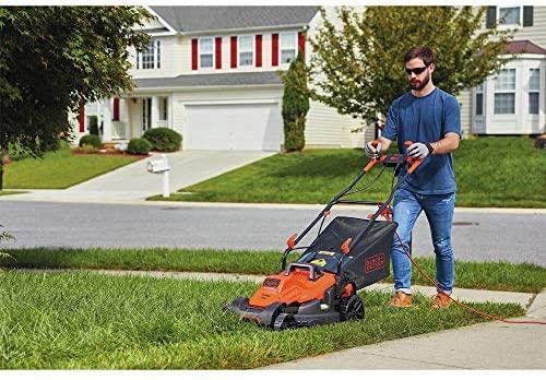 519BMMCHQ4L. AC  - BLACK+DECKER BEMW482BH Electric Lawn Mower