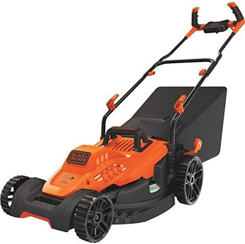 51BU+Xaqs5L. AC  - BLACK+DECKER BEMW482BH Electric Lawn Mower
