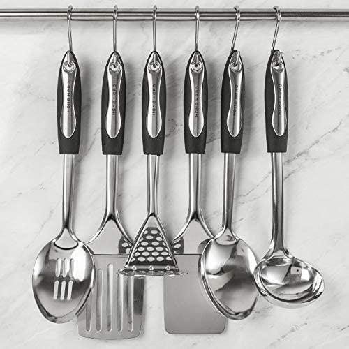 51Ba4Guss9L. AC  - Home Hero Stainless Steel Kitchen Cooking Utensils - 25 Piece Kitchen Utensil Set - Nonstick Kitchen Utensils Cookware Set with Spatula Set - Kitchen Gadgets Kitchen Tool Set Cooking Utensils Set
