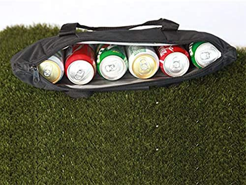 51Brm2fyHUL. AC  - Caddyswag Par 6 Pack Golf Bag Cooler With Flexible Reusable Freezer Gel Pack