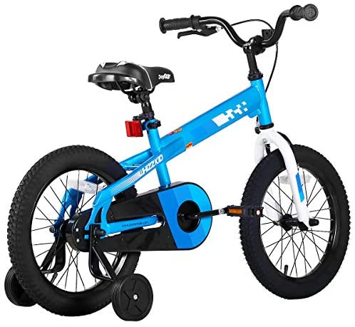 51F4mTkdKXL. AC  - JOYSTAR Whizz Kids Bike with Training Wheels for Ages 2-9 Years Old Boys and Girls, 12 14 16 18 Toddler Bike with Handbrake for Children