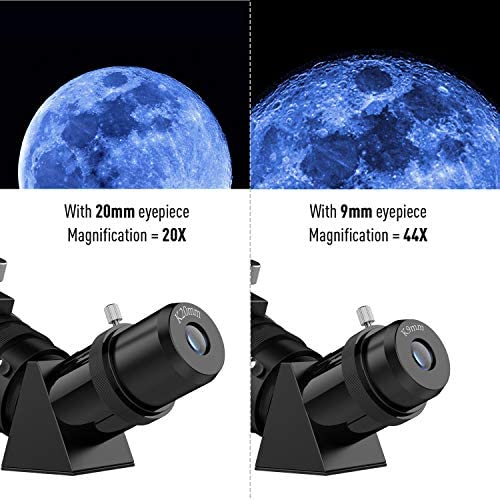 51iLrkv4+dL. AC  - Telescopes for Adults, 70mm Aperture 400mm AZ Mount, Telescope for Kids Beginners, Fully Multi-Coated Optics, Astronomy Refractor Telescope Portable Telescope with Tripod, Phone Adapter, Backpack