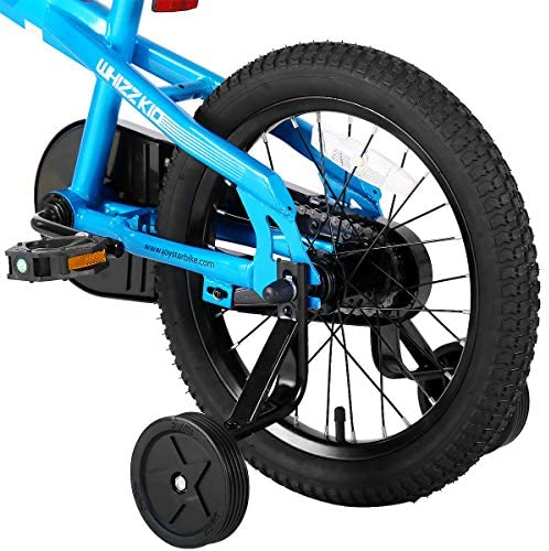 51owYS0Af9L. AC  - JOYSTAR Whizz Kids Bike with Training Wheels for Ages 2-9 Years Old Boys and Girls, 12 14 16 18 Toddler Bike with Handbrake for Children
