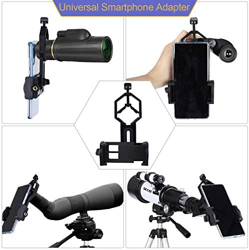 51pwo+HnRwL. AC  - occer Telescopes for Adults Kids Beginners - 70mm Aperture 400mm Telescope FMC Optic for View Moon Planet - Portable Refractor Telescope with Adjustable Tripod Finder Scope Phone Adapter