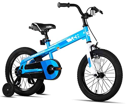 51wb0SALqFL. AC  - JOYSTAR Whizz Kids Bike with Training Wheels for Ages 2-9 Years Old Boys and Girls, 12 14 16 18 Toddler Bike with Handbrake for Children