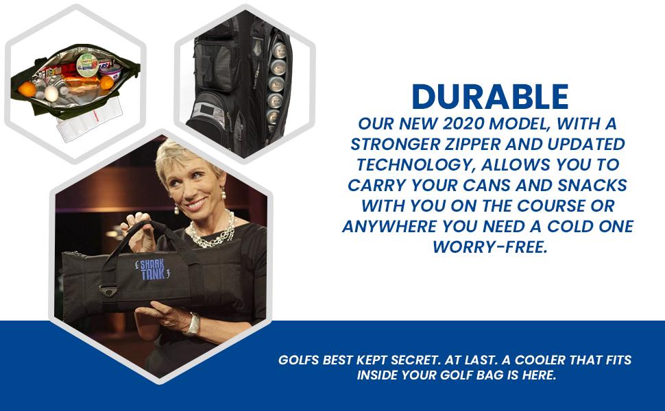 56aa6934 81cf 45ad 921b 0febddff0a52.  CR0,0,970,600 PT0 SX970 V1    - Caddyswag Par 6 Pack Golf Bag Cooler With Flexible Reusable Freezer Gel Pack