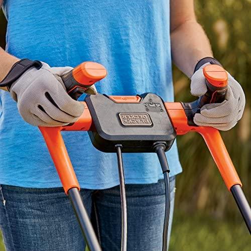 61jvdSEzYyL. AC  - BLACK+DECKER BEMW482BH Electric Lawn Mower