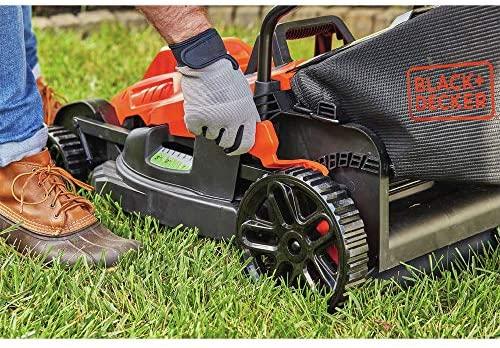 61qEWm6S4gL. AC  - BLACK+DECKER BEMW482BH Electric Lawn Mower