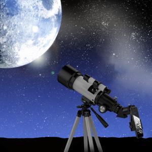 63e1b2cc 2afa 4207 94f1 31b0e0e1075d.  CR0,0,300,300 PT0 SX300 V1    - Telescopes for Adults, 70mm Aperture 400mm AZ Mount, Telescope for Kids Beginners, Fully Multi-Coated Optics, Astronomy Refractor Telescope Portable Telescope with Tripod, Phone Adapter, Backpack