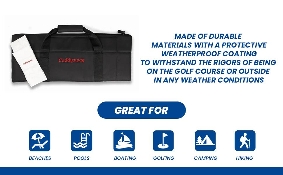 719c2417 fc8e 4bd1 b1c6 a520eea63862.  CR0,0,970,600 PT0 SX970 V1    - Caddyswag Par 6 Pack Golf Bag Cooler With Flexible Reusable Freezer Gel Pack