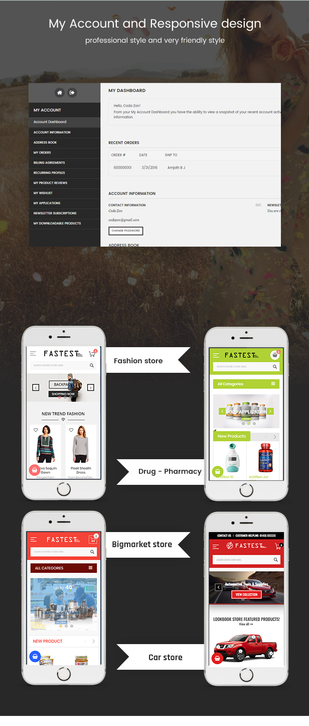 7update - Fastest - Multipurpose Responsive Magento 2 and 1 Fashion Theme