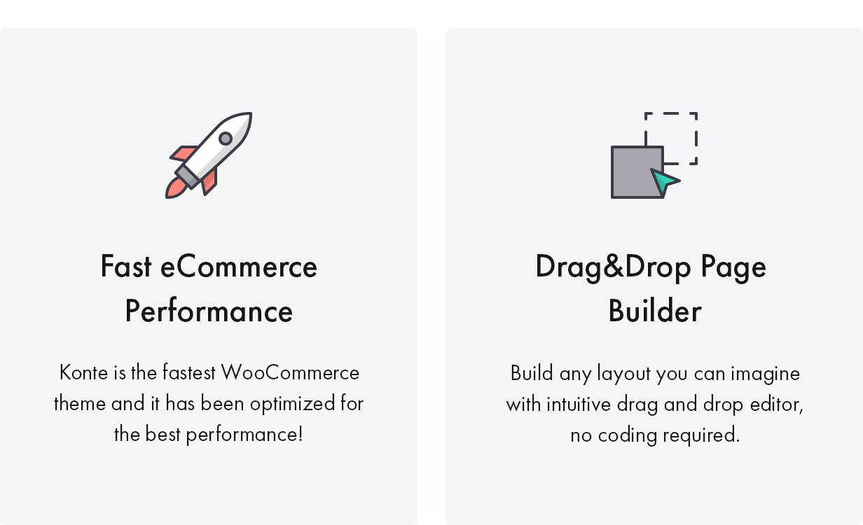 8 9 Fast&Drag - Konte - Minimal & Modern WooCommerce WordPress Theme