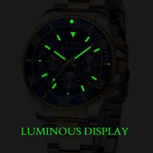 98737fb0 475b 4269 a0a7 8d15b4eb2724.  CR0,148,1003,1003 PT0 SX300 V1    - Mens Watches Chronograph Stainless Steel Waterproof Date Analog Quartz Fashion Business Wrist Watches for Men