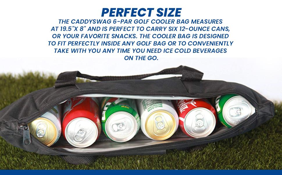 9a618cd3 9306 44ac b03b 58eebae6a037.  CR0,0,970,600 PT0 SX970 V1    - Caddyswag Par 6 Pack Golf Bag Cooler With Flexible Reusable Freezer Gel Pack