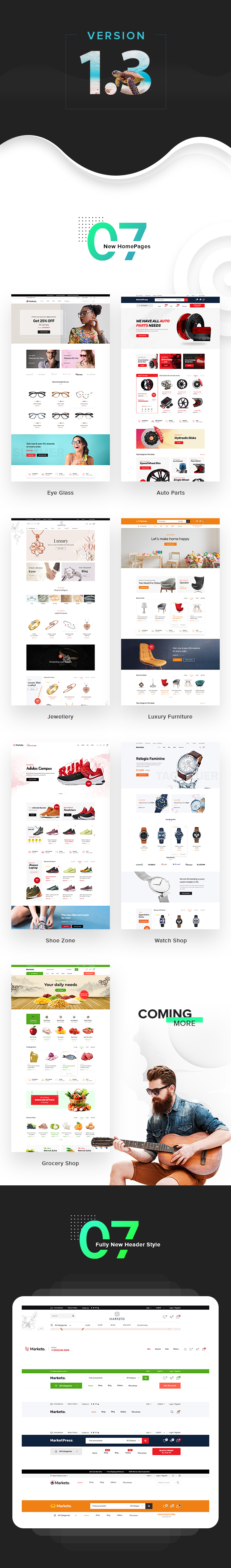 New homepage - Marketo - eCommerce & Multivendor Marketplace Woocommerce WordPress Theme