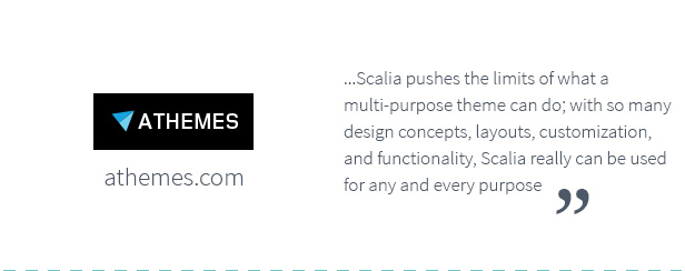 Reviews And Spotlights 1 1 03 - Scalia - Multi-Concept Business, Shop, One-Page, Blog Theme
