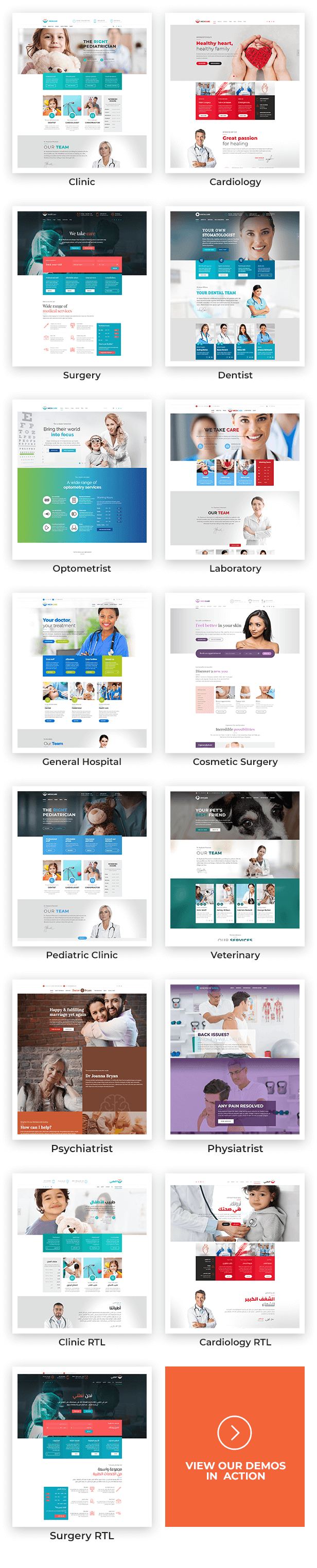 Theme Info 002 - Medicare - Doctor, Medical & Healthcare