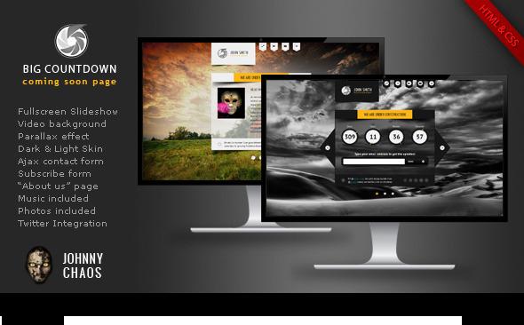 bigcountdown - BIG Gallery WP - Fullscreen Photography/Portfolio